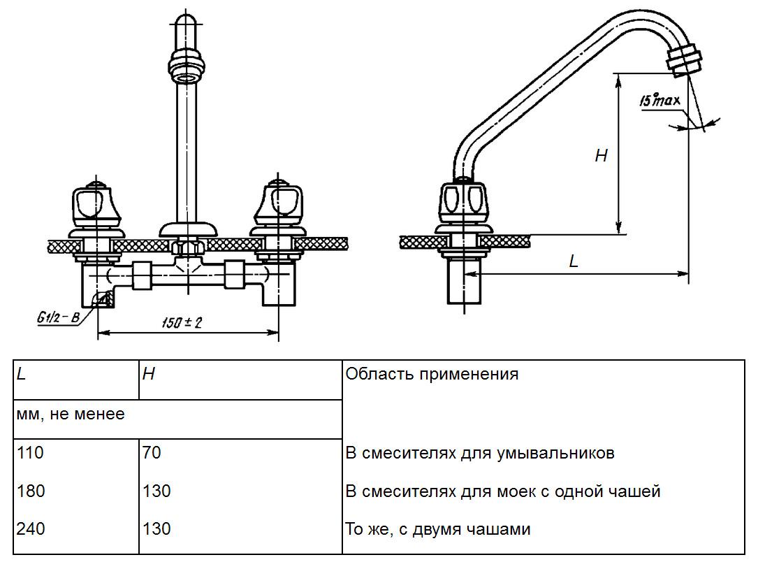 схема монтажа керамической чаши генуя