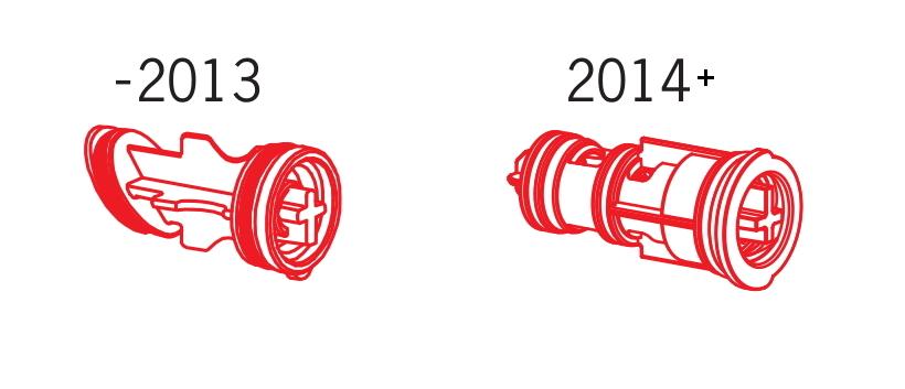 Изменение конструкции переключателя Oras 600358V
